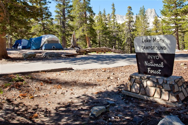 lake mary campground mammoth lakes best camping california