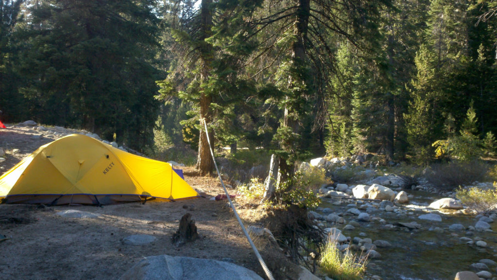 best camping california sequoia national park lodgepole campsite